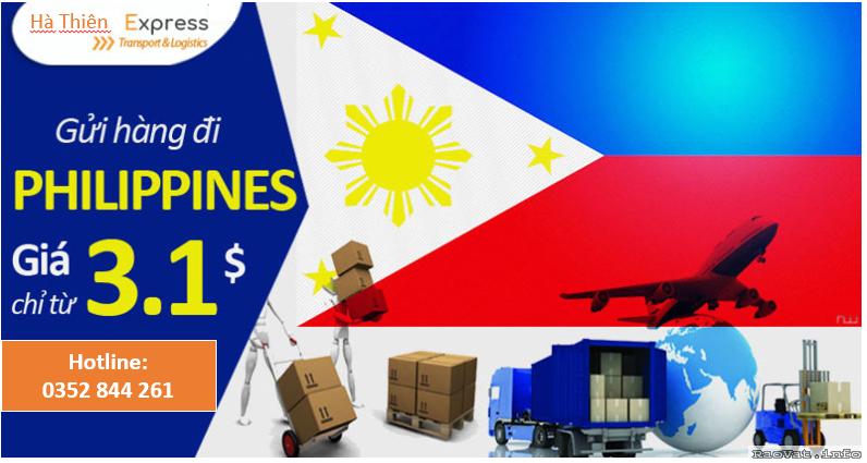 Hà Thiên Galaxy Express chuyên cung cấp các dịch vụ: vận chuyển hàng đi Philippines, gửi hàng đi Philippines, mua hộ hàng Philippines
